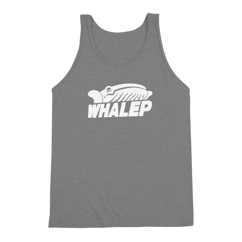 WHALEP (White Linework) Men's Triblend Tank by Arlen Pringle