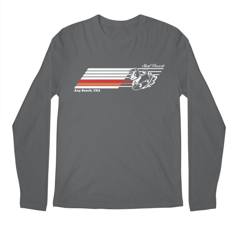 Surf Pooch Men's Longsleeve T-Shirt by Arlen Pringle