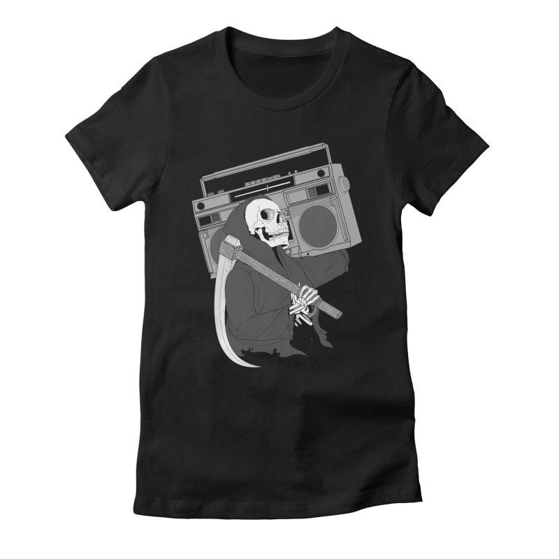 DeathJam Women's Fitted T-Shirt by Arlen Pringle