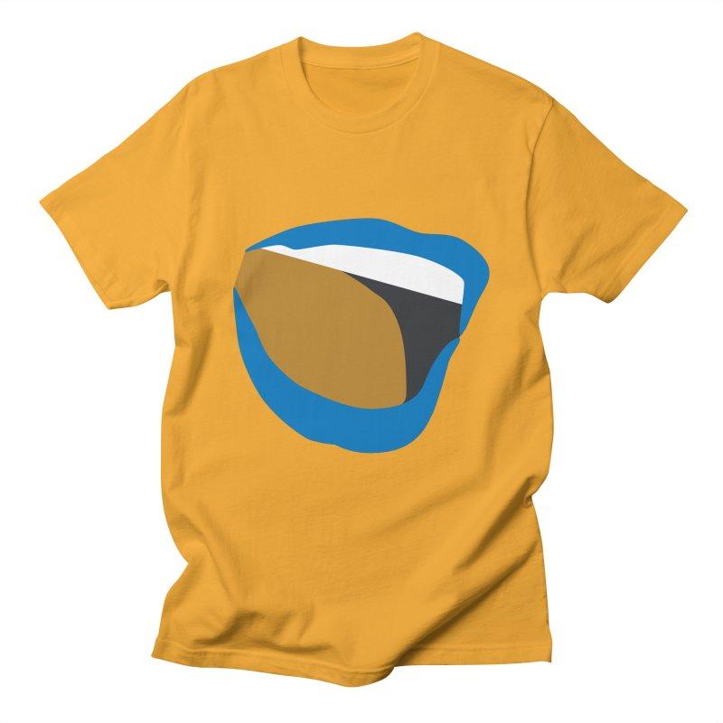 A woman's voice - BLUE LIPS Men's T-Shirt by Arlon – Minimal apparel shop
