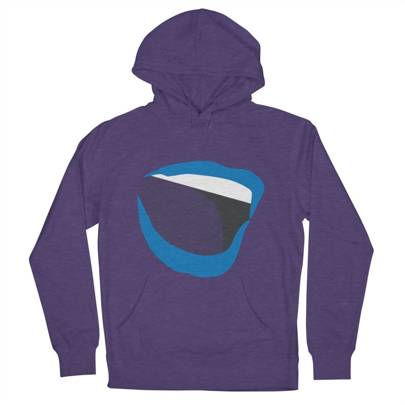 A woman's voice - BLUE LIPS Women's French Terry Pullover Hoody by Arlon – Minimal apparel shop