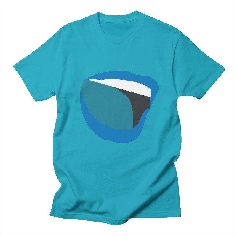 A woman's voice - BLUE LIPS Men's Regular T-Shirt by Arlon – Minimal apparel shop