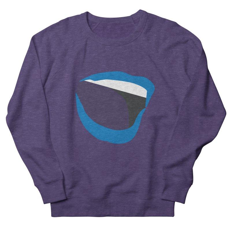 A woman's voice - BLUE LIPS Men's French Terry Sweatshirt by Arlon – Minimal apparel shop
