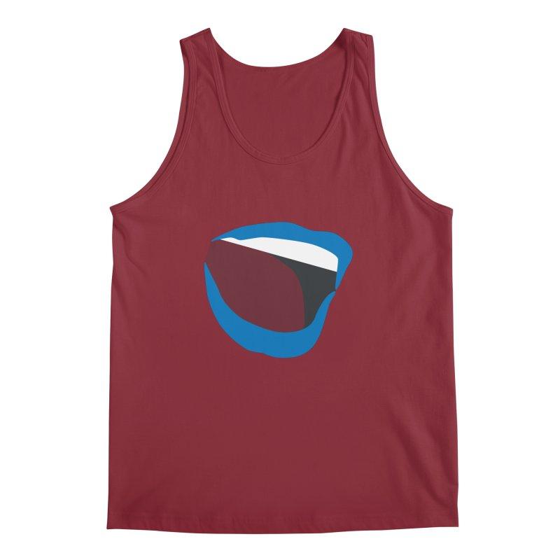 A woman's voice - BLUE LIPS Men's Regular Tank by Arlon – Minimal apparel shop