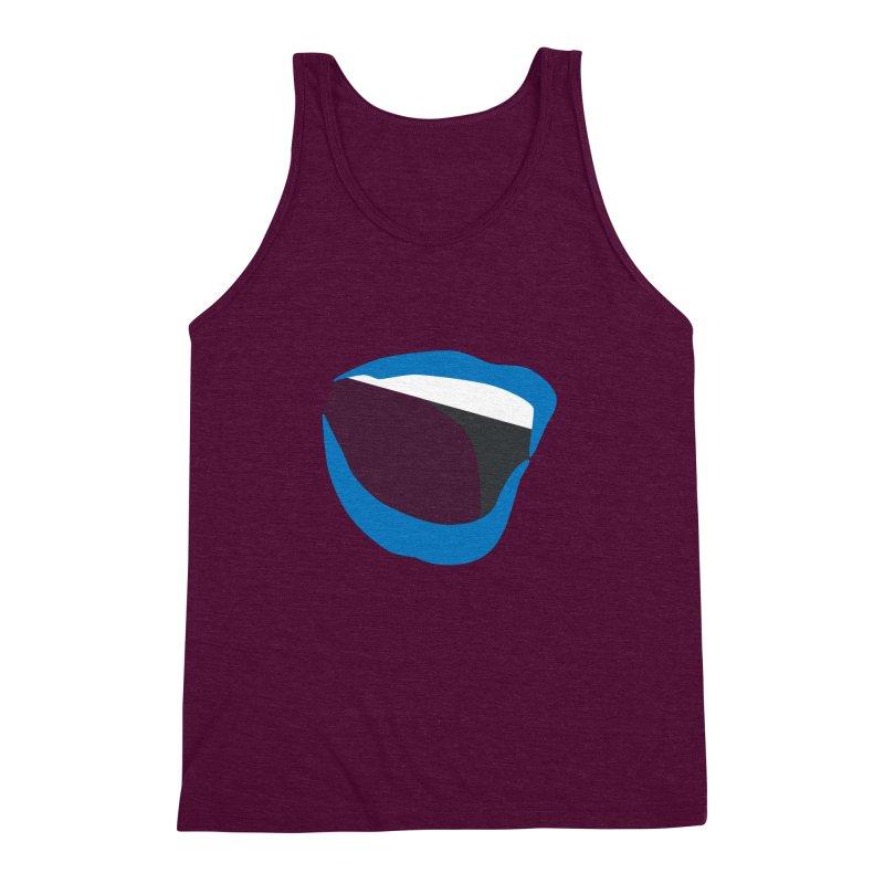 A woman's voice - BLUE LIPS Men's Triblend Tank by Arlon – Minimal apparel shop