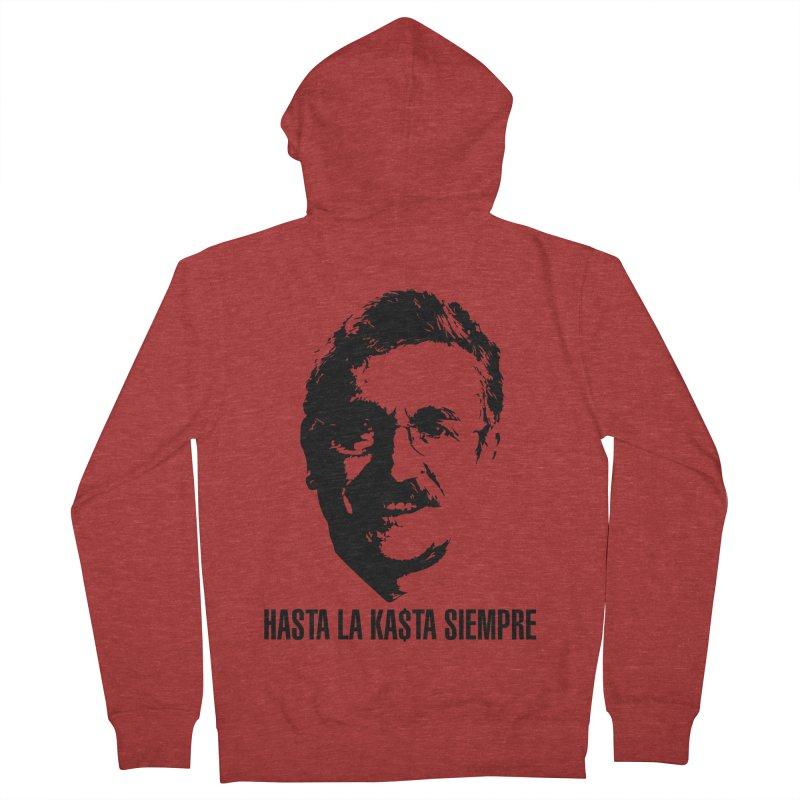 Hasta la Kasta Men's French Terry Zip-Up Hoody by Arlon – Minimal apparel shop