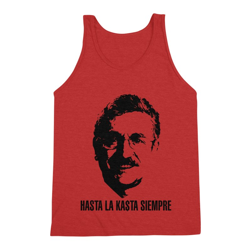 Hasta la Kasta Men's Triblend Tank by Arlon – Minimal apparel shop