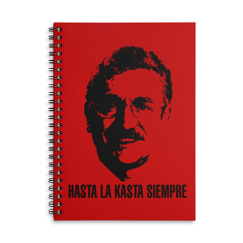 Hasta la Kasta Accessories Lined Spiral Notebook by Arlon – Minimal apparel shop
