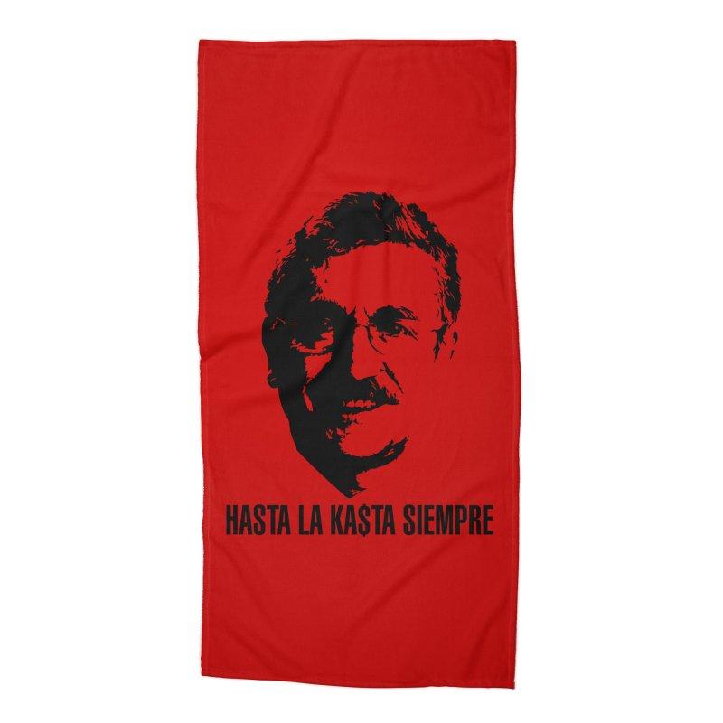 Hasta la Kasta Accessories Beach Towel by Arlon – Minimal apparel shop