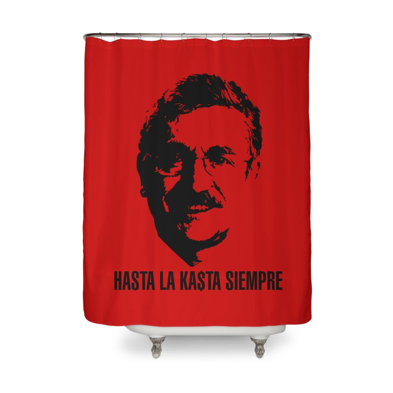 Hasta la Kasta Home Shower Curtain by Arlon – Minimal apparel shop