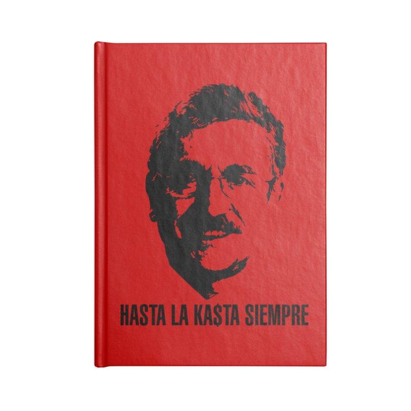 Hasta la Kasta Accessories Blank Journal Notebook by Arlon – Minimal apparel shop