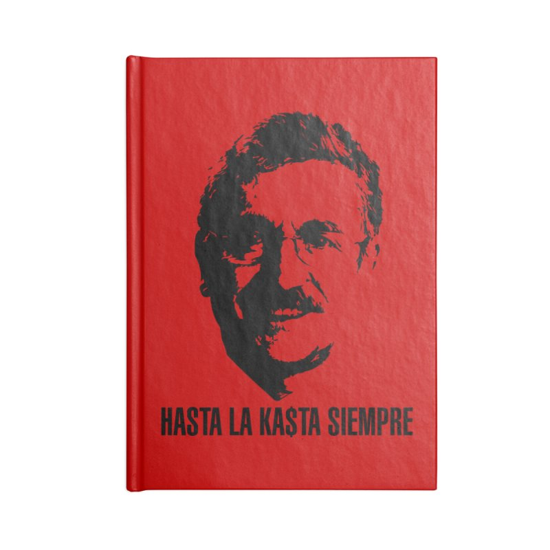 Hasta la Kasta Accessories Notebook by Arlon – Minimal apparel shop