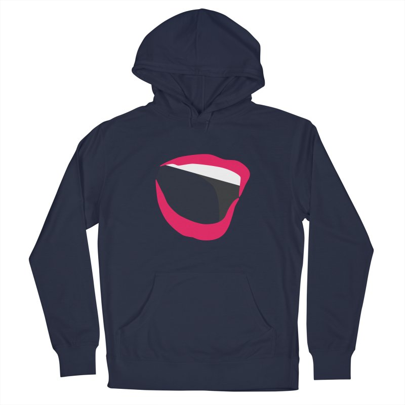 A woman's voice - RED LIPS Men's Pullover Hoody by Arlon – Minimal apparel shop