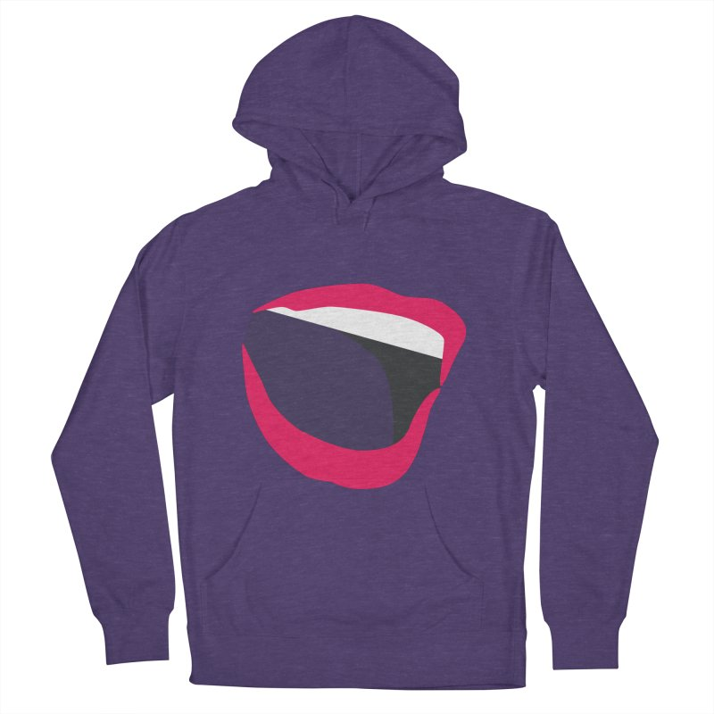 A woman's voice - RED LIPS Men's French Terry Pullover Hoody by Arlon – Minimal apparel shop