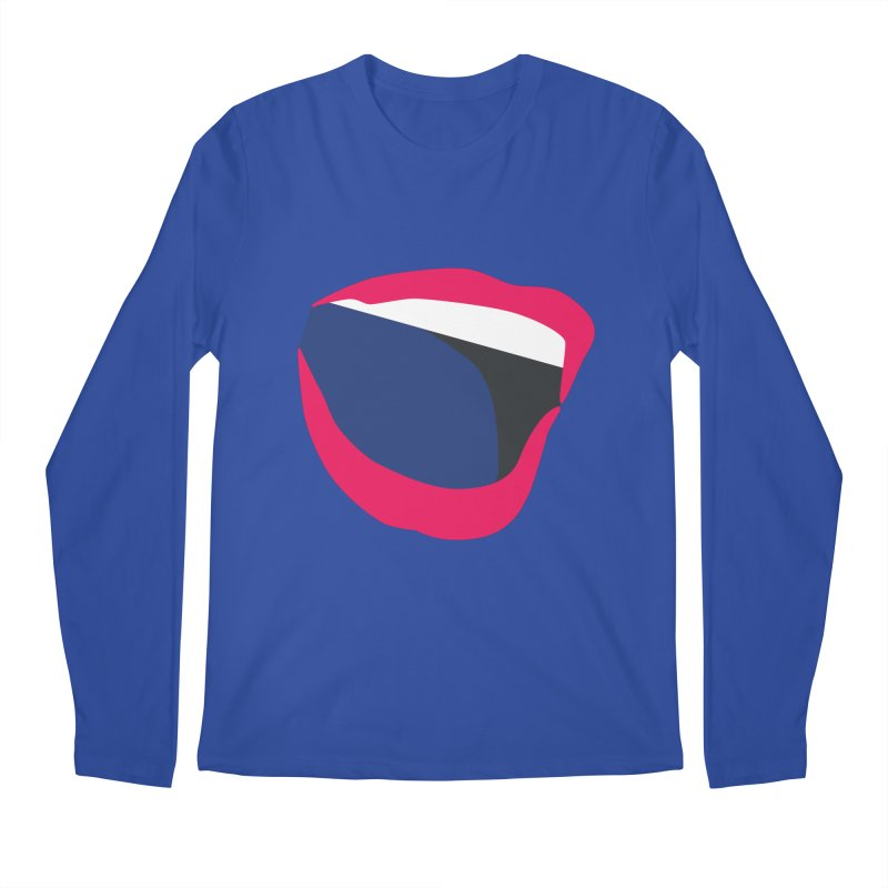 A woman's voice - RED LIPS Men's Regular Longsleeve T-Shirt by Arlon – Minimal apparel shop