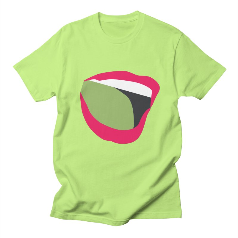 A woman's voice - RED LIPS Men's T-Shirt by Arlon – Minimal apparel shop