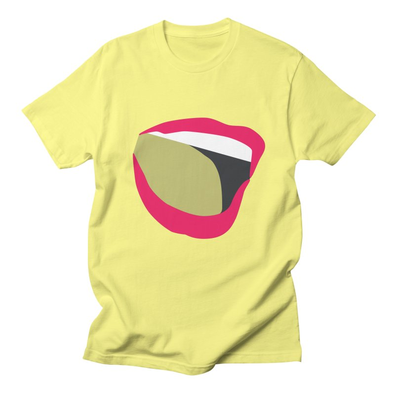 A woman's voice - RED LIPS Men's T-Shirt by Arlon – Minimal apparel shop