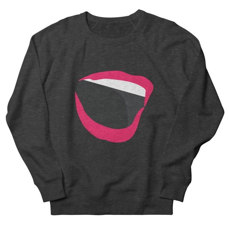 A woman's voice - RED LIPS Women's French Terry Sweatshirt by Arlon – Minimal apparel shop