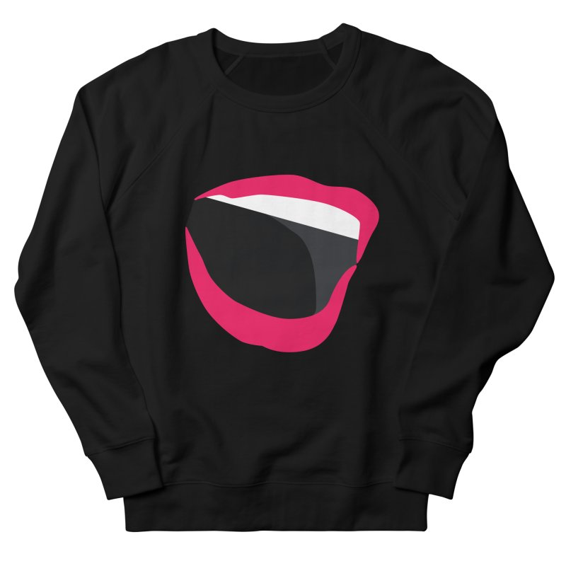 A woman's voice - RED LIPS Men's Sweatshirt by Arlon – Minimal apparel shop