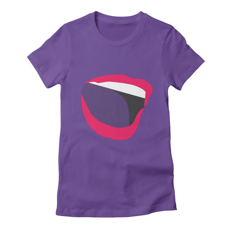 A woman's voice - RED LIPS Women's T-Shirt by Arlon – Minimal apparel shop