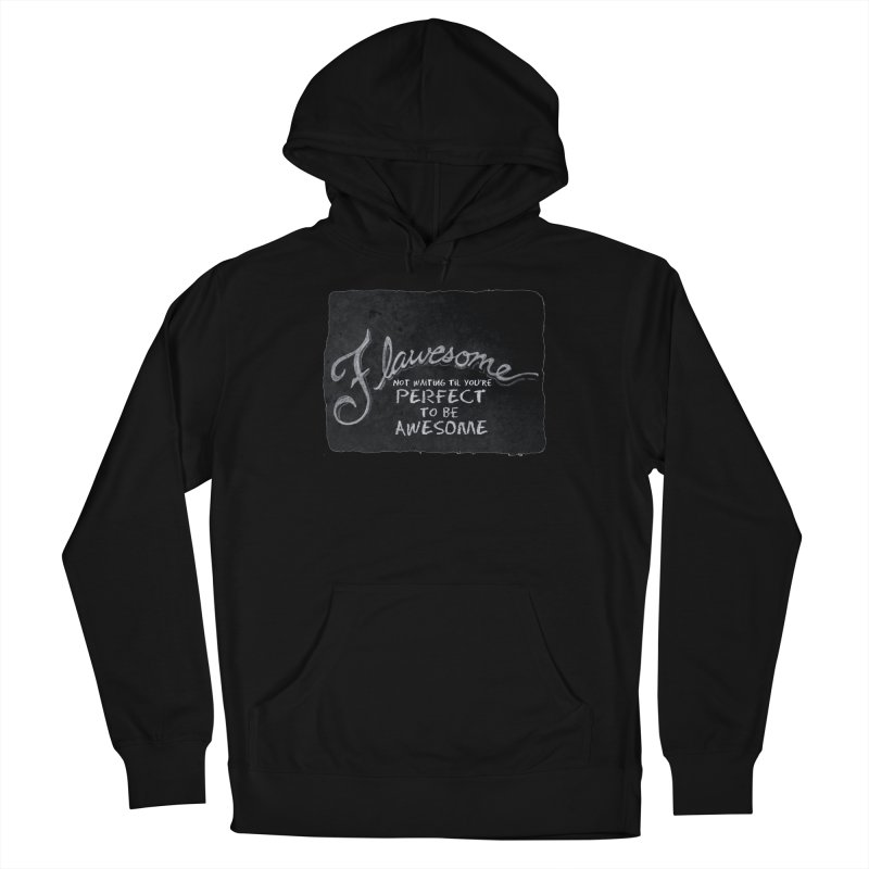 Flawesome Men's French Terry Pullover Hoody by Armando's Artist Shop