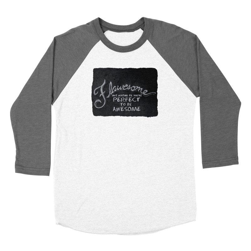 Flawesome Women's Longsleeve T-Shirt by Armando's Artist Shop