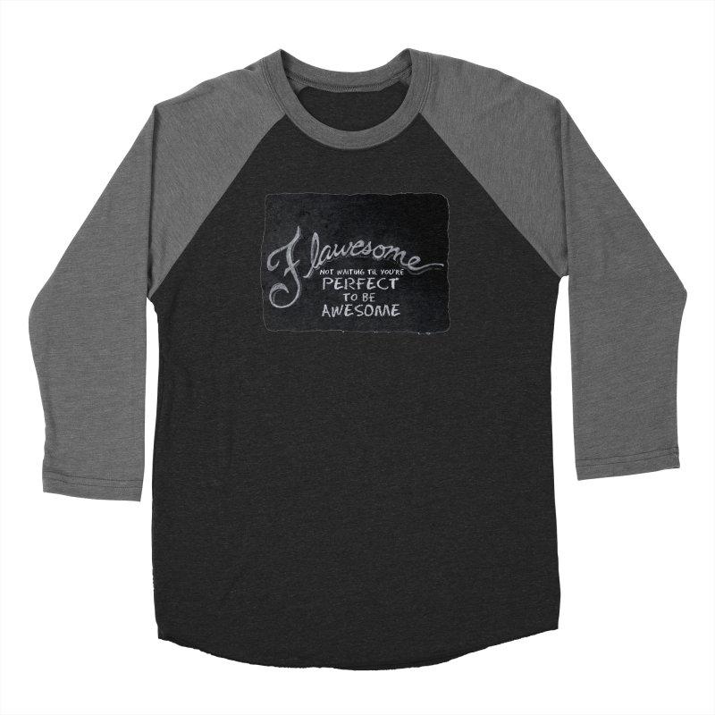 Flawesome Women's Baseball Triblend Longsleeve T-Shirt by Armando's Artist Shop