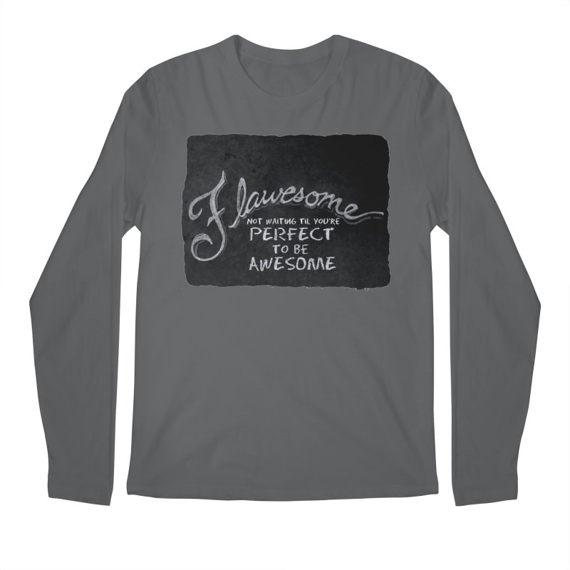 Flawesome Men's Regular Longsleeve T-Shirt by Armando's Artist Shop