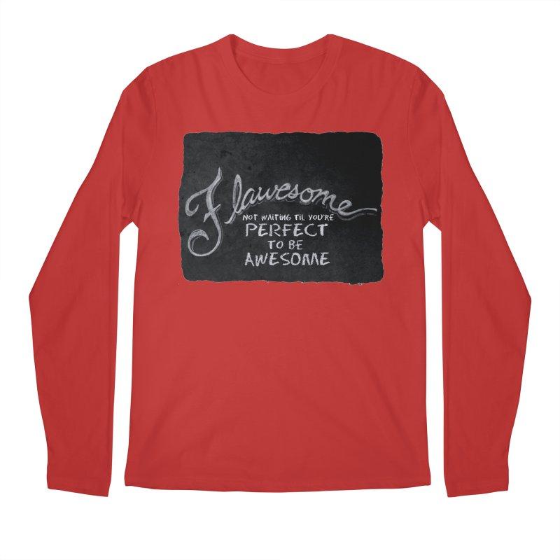 Flawesome Men's Regular Longsleeve T-Shirt by Armando's Artist Shop