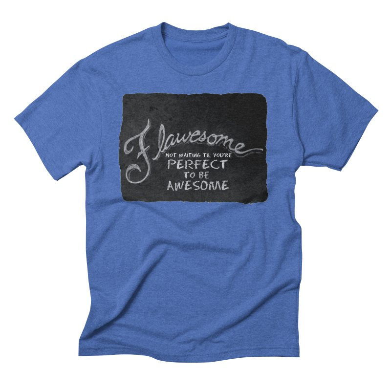 Flawesome Men's T-Shirt by Armando's Artist Shop