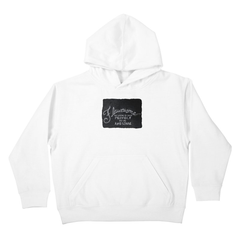Flawesome Kids Pullover Hoody by Armando's Artist Shop