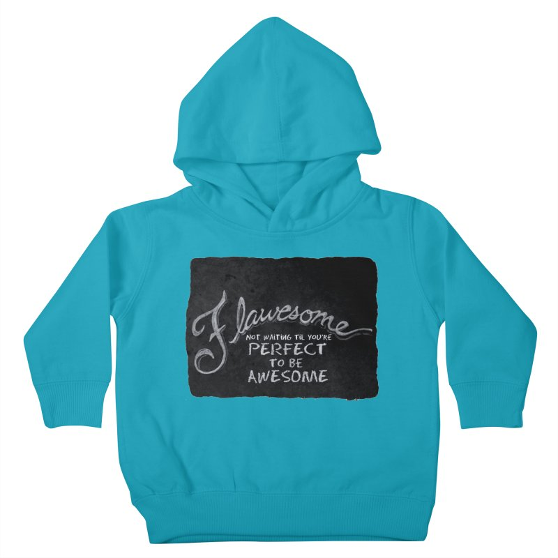 Flawesome Kids Toddler Pullover Hoody by Armando's Artist Shop
