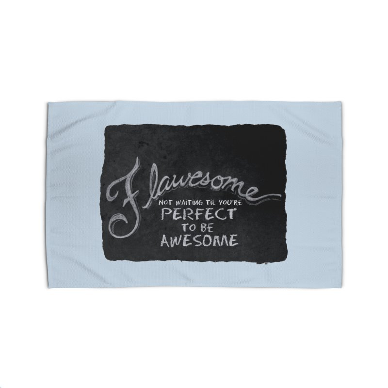 Flawesome Home Rug by Armando's Artist Shop