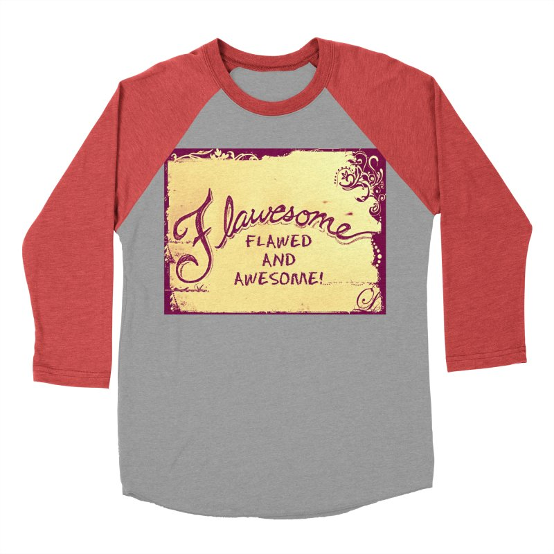 Flawesome - Flawed AND Awesome! Men's Longsleeve T-Shirt by Armando's Artist Shop