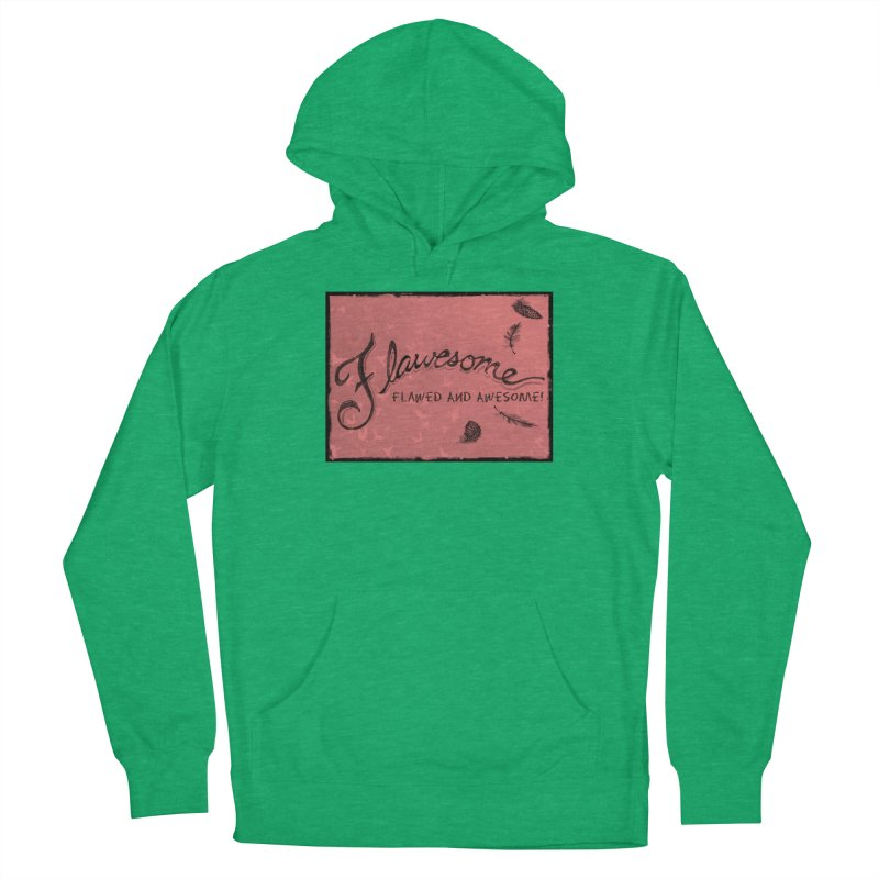 Flawesome - Feathers Men's French Terry Pullover Hoody by Armando's Artist Shop