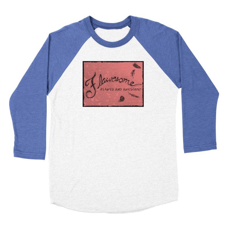 Flawesome - Feathers Women's Baseball Triblend Longsleeve T-Shirt by Armando's Artist Shop