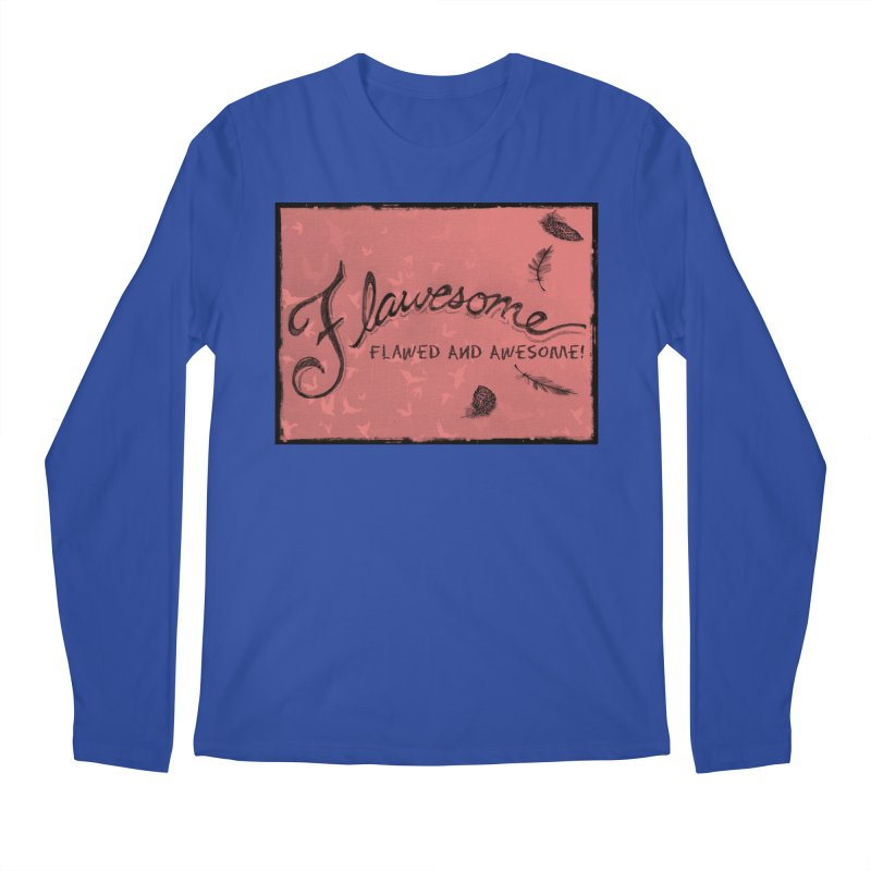 Flawesome - Feathers Men's Regular Longsleeve T-Shirt by Armando's Artist Shop