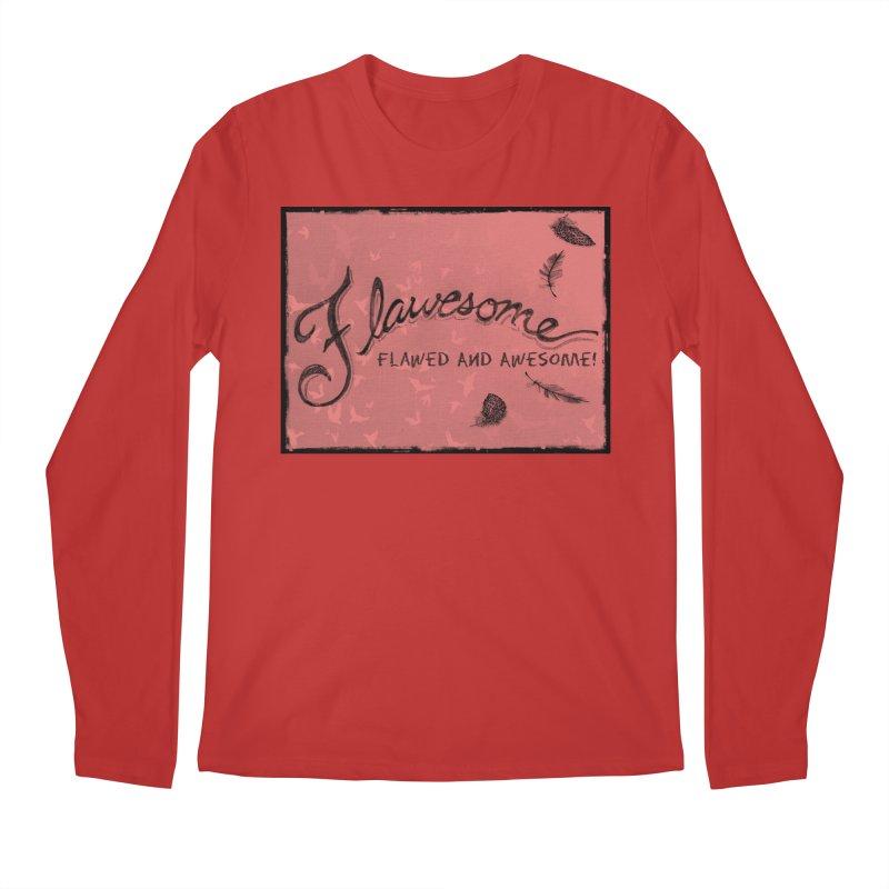 Flawesome - Feathers Men's Regular Longsleeve T-Shirt by Armando's Artist Shop