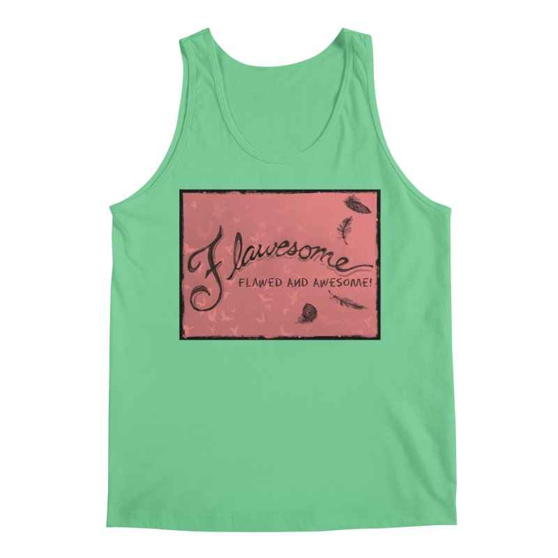 Flawesome - Feathers Men's Regular Tank by Armando's Artist Shop
