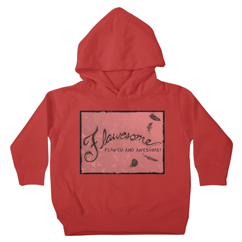 Flawesome - Feathers Kids Toddler Pullover Hoody by Armando's Artist Shop