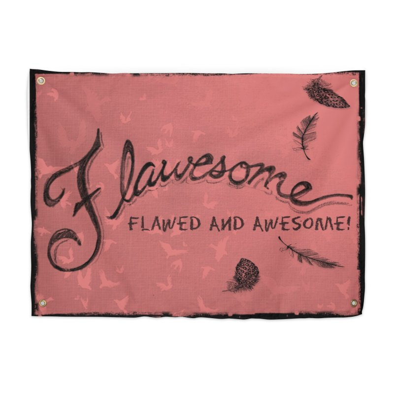 Flawesome - Feathers Home Tapestry by Armando's Artist Shop