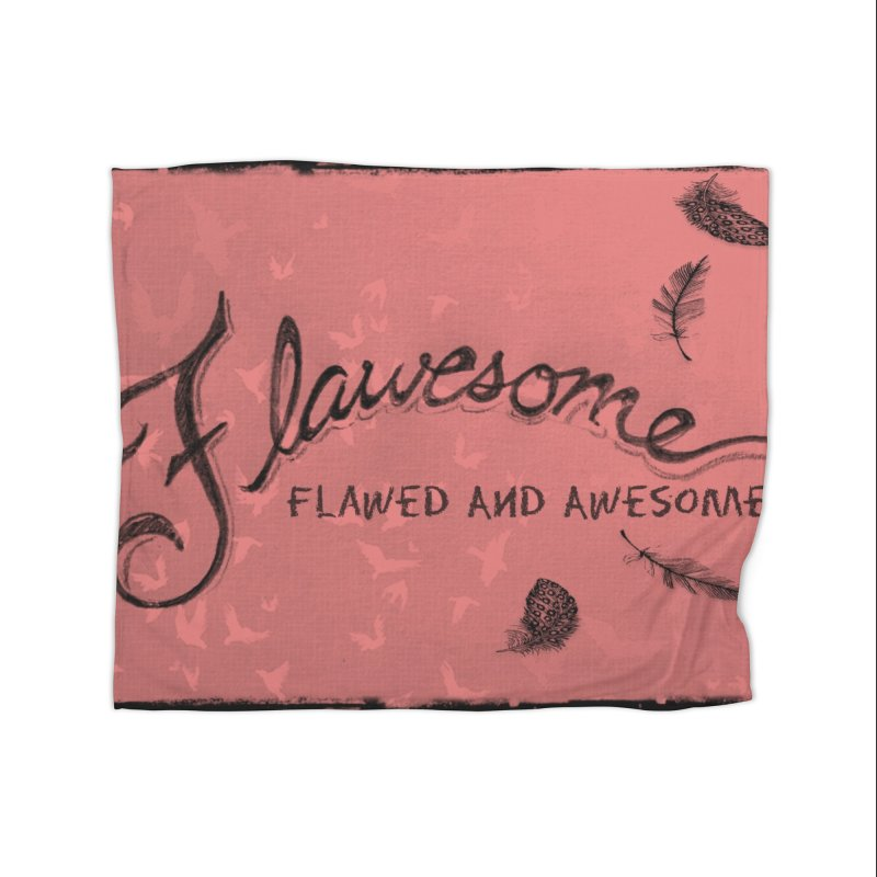 Flawesome - Feathers Home Blanket by Armando's Artist Shop