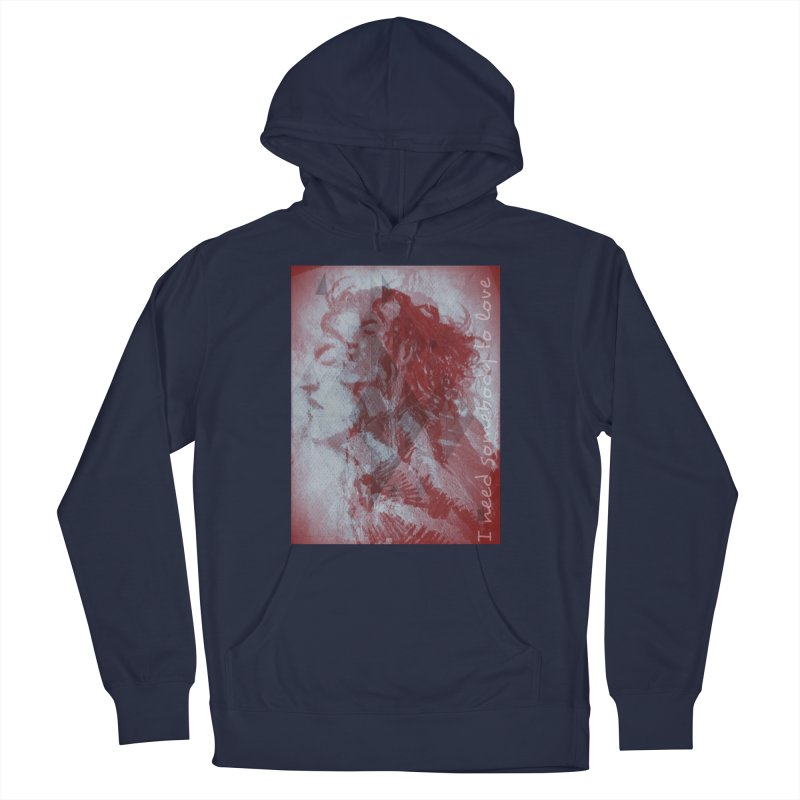 ROCKFACE: With A Little Help from My Friends Women's French Terry Pullover Hoody by Armando's Artist Shop