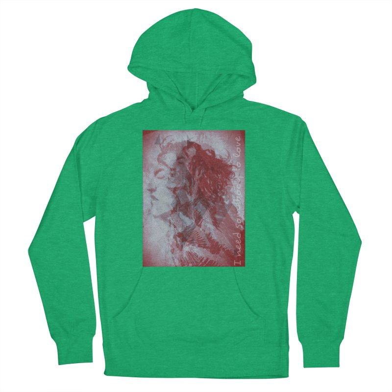 ROCKFACE: With A Little Help from My Friends Men's French Terry Pullover Hoody by Armando's Artist Shop