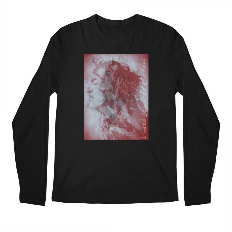 ROCKFACE: With A Little Help from My Friends Men's Regular Longsleeve T-Shirt by Armando's Artist Shop