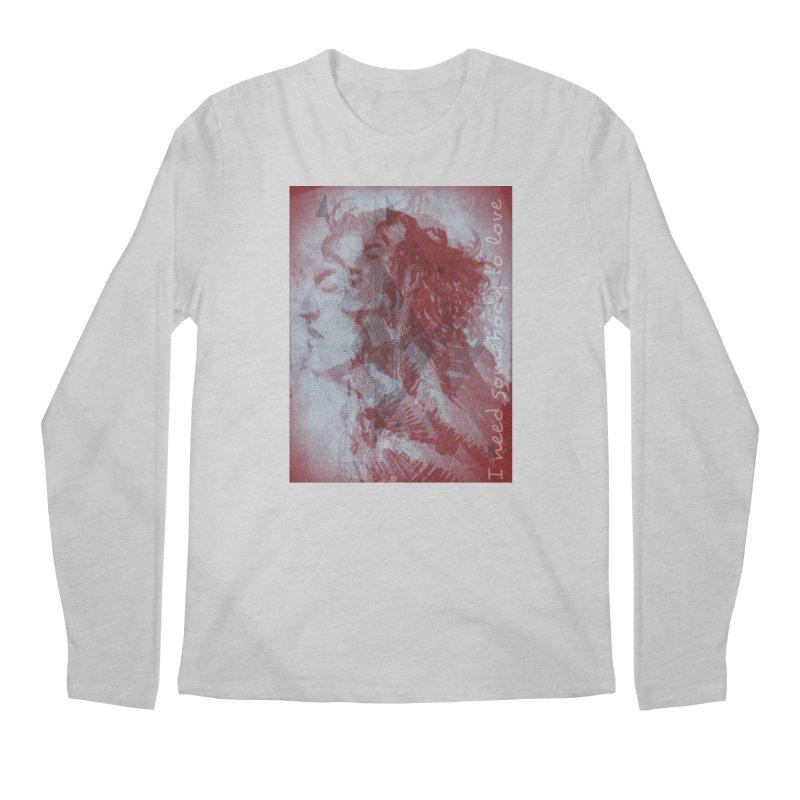 ROCKFACE: With A Little Help from My Friends Men's Regular Longsleeve T-Shirt by Armando's Artist Shop