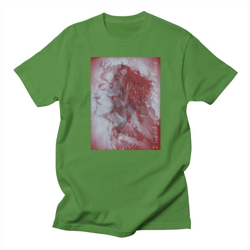 ROCKFACE: With A Little Help from My Friends Men's Regular T-Shirt by Armando's Artist Shop