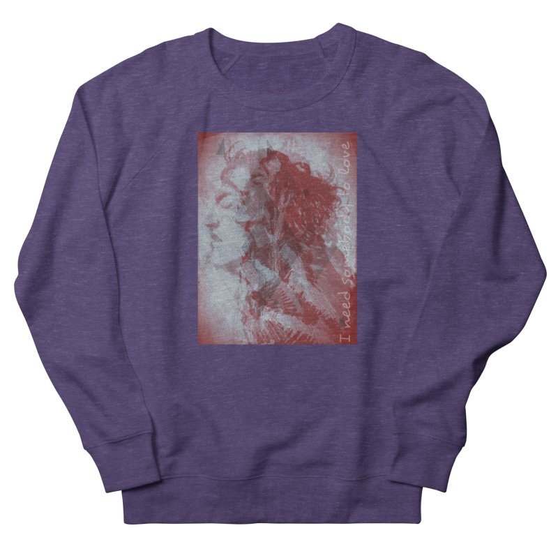 ROCKFACE: With A Little Help from My Friends Women's French Terry Sweatshirt by Armando's Artist Shop