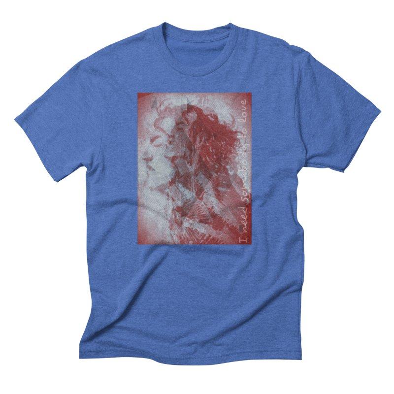 ROCKFACE: With A Little Help from My Friends Men's T-Shirt by Armando's Artist Shop