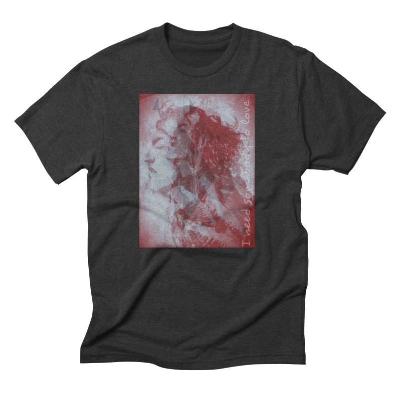 ROCKFACE: With A Little Help from My Friends Men's Triblend T-Shirt by Armando's Artist Shop